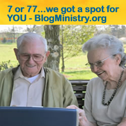 Learn Blog ministry at www.blogministry.org